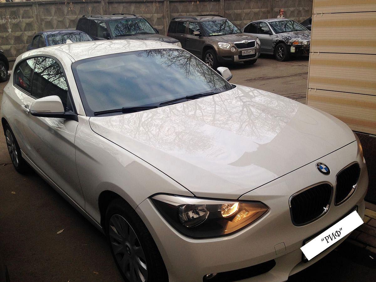 Аренда BMW 116i в Москве