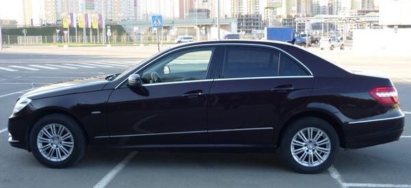 Аренда Mercedes Benz E200 в Москве